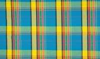 Cotton 100% Poplin Fabric Material Tartan Madras Check Rainbow 006